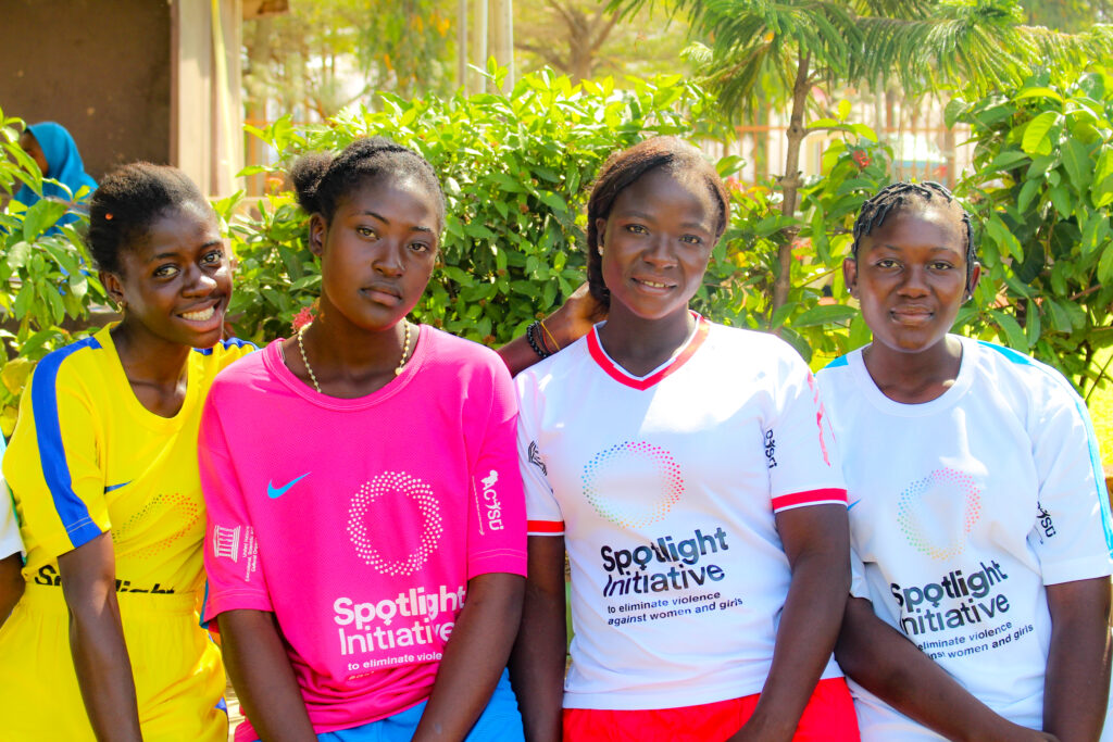 Sports and Psychosocial Rehabilitation of survivors of gender-based violence under the EU/UN funded Spotlight Initiative in Nigeria